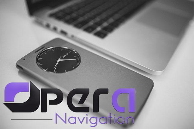 About Opera Navigation